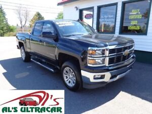 2015 Chevrolet Silverado 1500 LT w/ factory leather (bench seat)