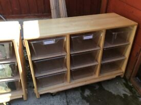 Community playthings, pre-school and infant furniture