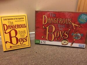 Dangerous book for Boys book and Game