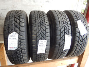 Various used winter tires for sale