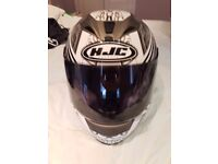 HJC Draco HJ-15 mens motorcycle helmet great condition Size L