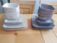 32 piece trades winds tableware
