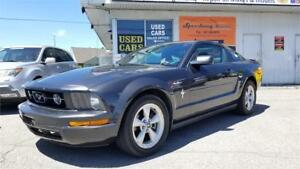 2007 Ford Mustang - Leather, RWD, Power Seats, 5 Speed Manual