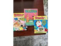 Dandy Comics and Starblazer for sale