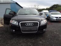 2005 Audi A4 b7 2.0 tdi quattro Saloon Black BREAKING FOR PARTS SPARES