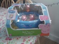BRAND NEW sealed in box *PEPPA PIG* bath time fun