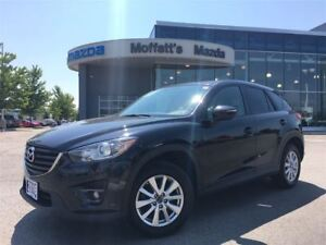 2016 Mazda CX-5 GS-L AWD LEATHER, SUNROOF, HEATED SEATS, BLINDSP