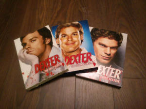 Dexter seasons 1, 2, 3