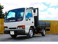 2000 Izuzu NKR 55, drop side lorry, 3.5 ton, 12 months PSV, winch, led light bar, low miles, 2 owner