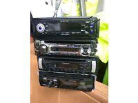 Cd radio head units for sale
