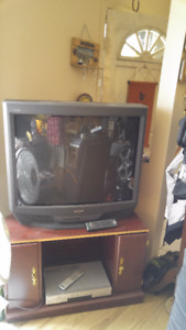sony 32 in TV and stand