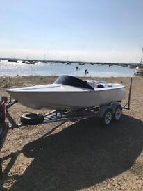 Ray Wright Delta Speedboat