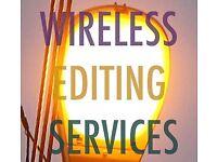 Video & Audio Editing Services