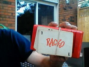 Old Racko Game