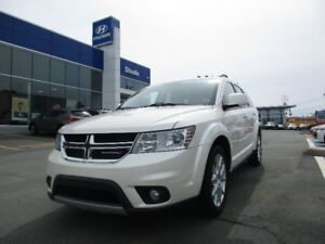 2013 Dodge JOURNEY Crew 7 Passenger w DVD player