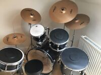 D2 Ddrum Kit with Zildjians cymbals