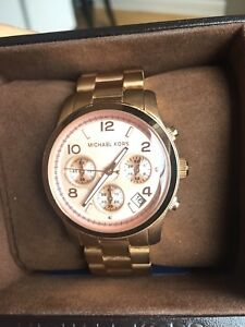 Rose gold Michael Kors watch -broken