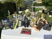 STAR WARS A FANTASTIC COLLECTION OF 10 GREAT ITEMS. MOST OVER 20 YEARS OLD!