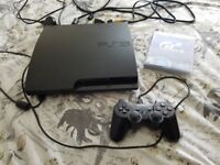 Working ps3 console with 1 game
