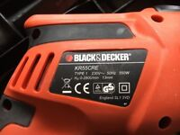 Black and Decker hammer action drill