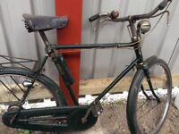 Pair of bikes ladies Raleigh 1950's and Mens Phillips 1940's