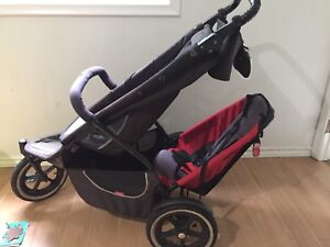 Phil & Ted double running stroller