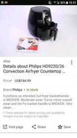 Phillips airfryer