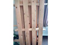 Sofa, bed, wooden frame, mattress