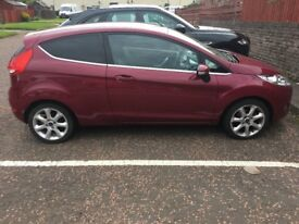 Ford Fiesta 1.4 Titanium 3dr Automatic (ONLY 48,000 MILES + 1 YEARS MOT)