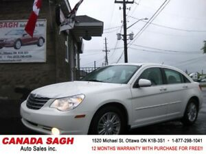 2008 Chrysler Sebring AUTOMATIC LOADED CAR ,12M.WRTY+SAFETY 5888