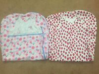 Summer sleeping bags, aged 18-36 months