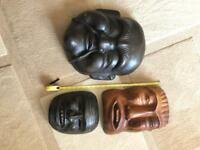 Collection of masks x3