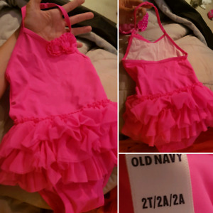 Size 12 month to 2T Girls Bathing Suits