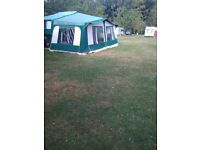 Pennine Pathfinder Folding Camper 2004, 6 berth with full awning and motor mover