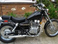 Honda Rebel 250 motorcycle