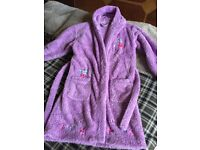 Girl's dressing gown, John Lewis, age 10