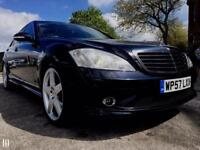 Mercedes S320 7G Tronic AMG Factory Fitted Body Styling, full main dealer S/H L@@k