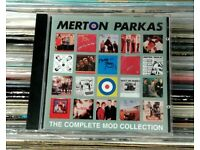 The Merton Parkas ‎– The Complete Mod Collection, VG, compilation CD, released in 1997, Mod Revival.
