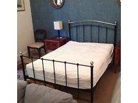 Lovely double bed: mattress unused