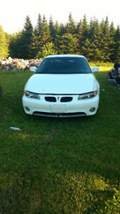 1999 Pontiac Grand Prix gtp Coupe (2 door)