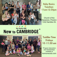 KW MOMS CLUB BABY & TODDLER CLASSES