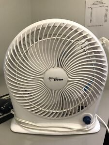 TWO FOR ONE 3-SPEED FANS MEDIUM SIZE USED