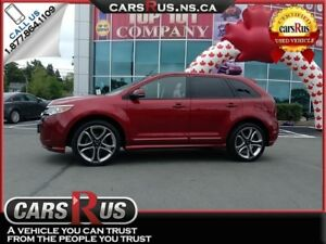 2013 Ford Edge Sport All-Wheel-Drive, Panoramic Roof, Leather Se