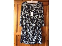 New with labels Smart blue and white dress