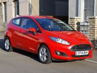 One Owner 2014 Ford FIESTA Zetec 1.25, New MOT ans Serviced, Bluetooth, Alloys, Remote, CD/FM Radio