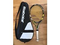Babolat AeroPro Drive GT Tennis Racket. Grip 4. Pro Hurricane Tour Restring.!