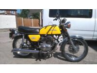 Honda CB200 1978 rebuilt with full MOT