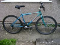 "Specialized HardRock Mountain Bike, good condition 17 inch frame. ""93"" model Retro Classic."