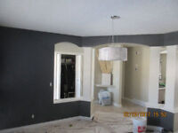 CEILING PAINTING WATER & SMOKE DAMAGE REMEDIATION