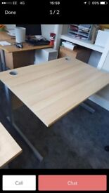 1 x small 120x80 cm office desk on clearance @ just £30 Only